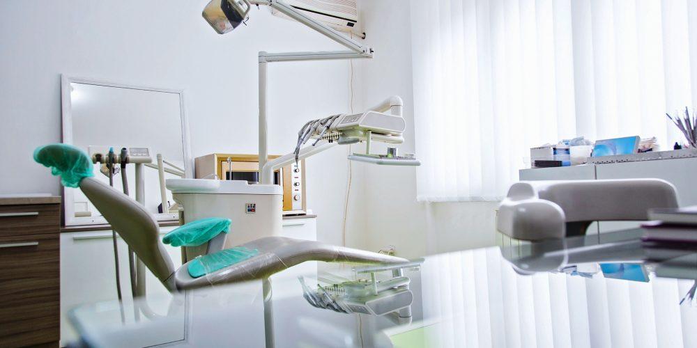 Interior of modern dental office